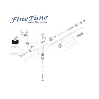 FineTune FT-430 Double Action 0,3mm Airbrushpistole